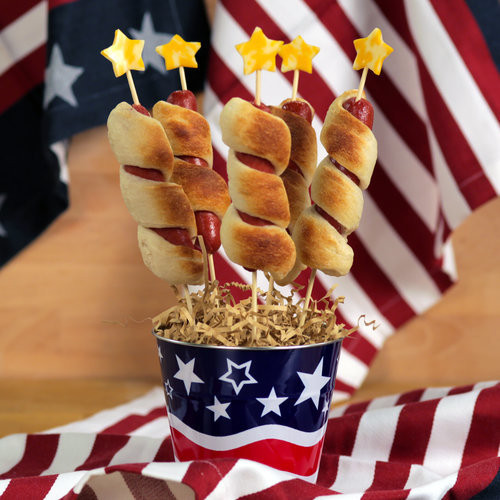 4Th Of July Hot Dogs  Firecracker Hot Dog Recipe