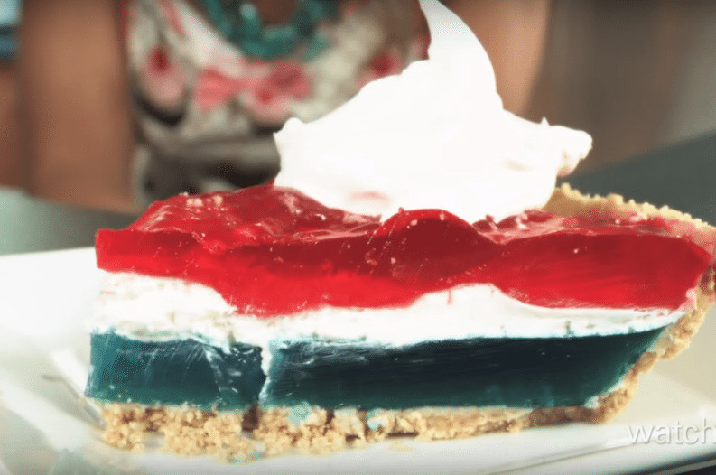 4Th Of July Jello Dessert  This Patriotic Jello Pie is the Perfect Fourth of July Dessert