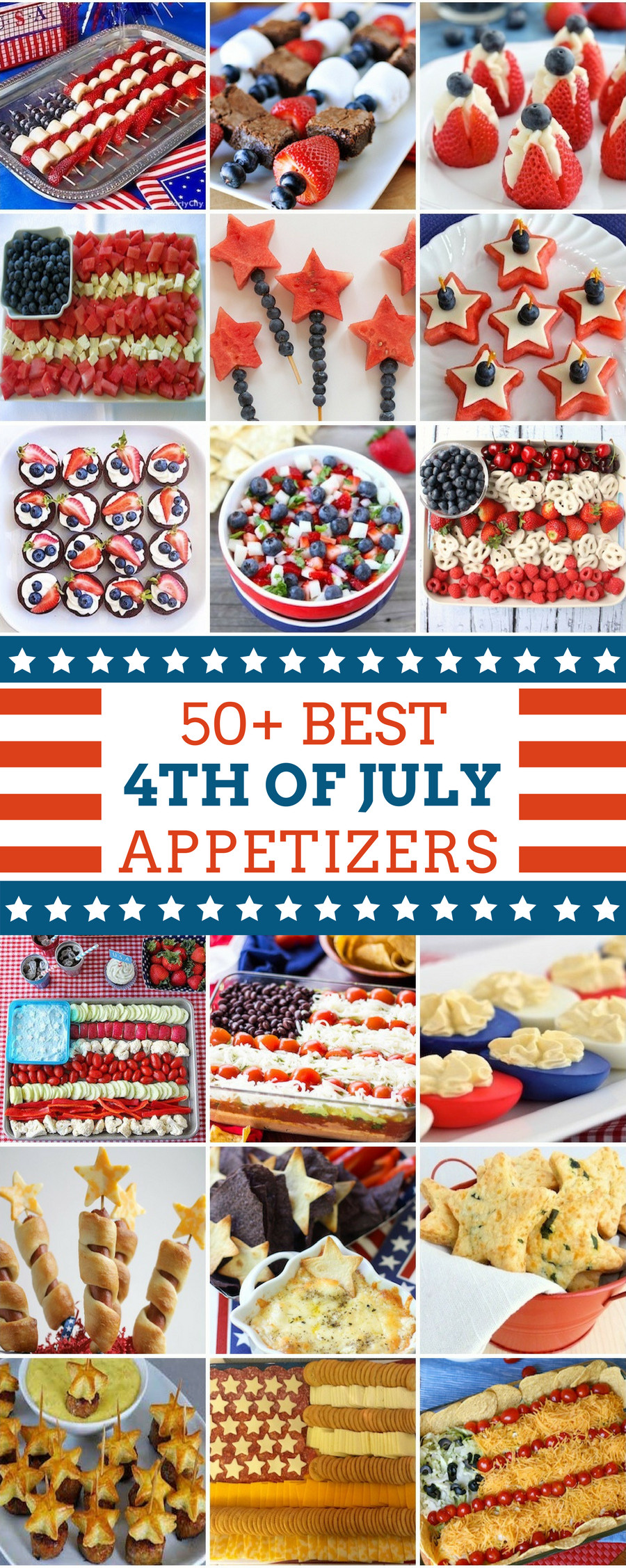 4Th Of July Party Appetizers  50 Best 4th of July Appetizers Prudent Penny Pincher