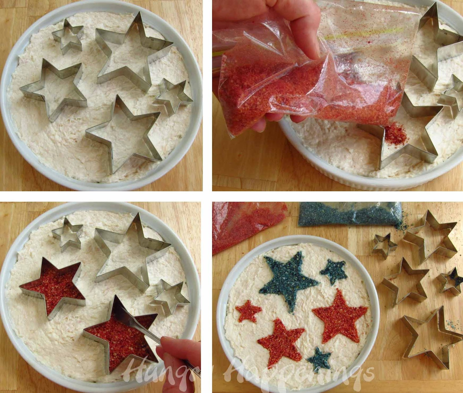 4Th Of July Recipes Appetizers  Patriotic Appetizer Snack Dip for Fourth of July Party