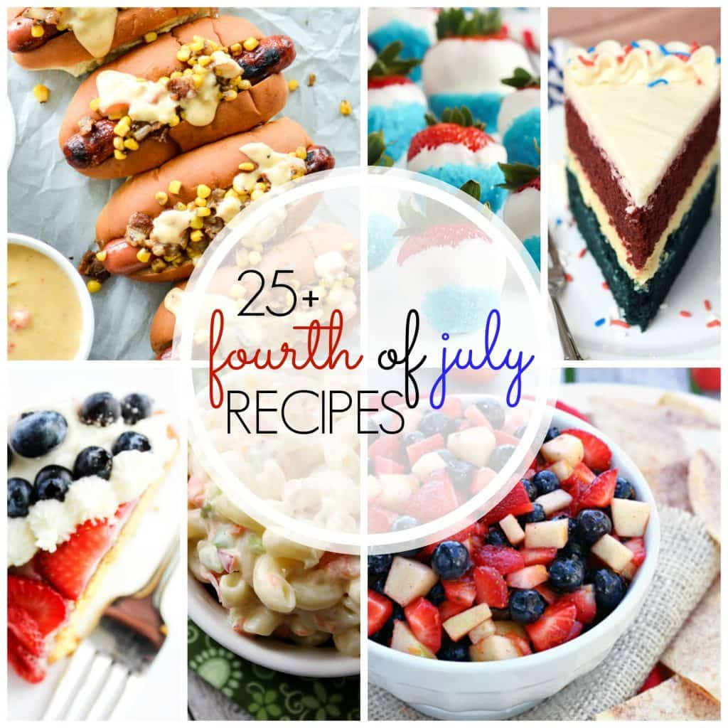 4Th Of July Recipes Red White And Blue Appetizers  25 Must See July 4th Recipes Yummy Healthy Easy