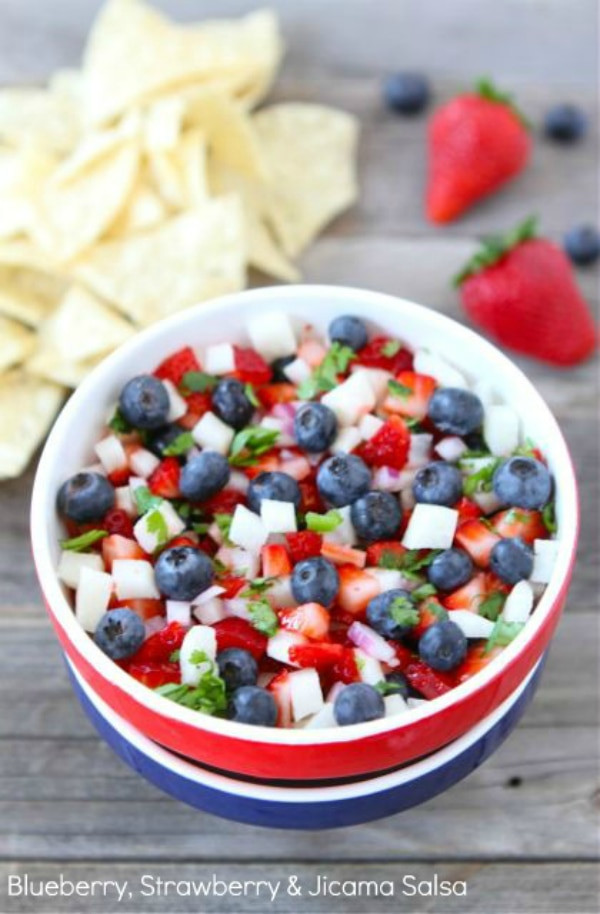 4Th Of July Recipes Red White And Blue Appetizers  12 4th of July Appetizers to Celebrate thegoodstuff