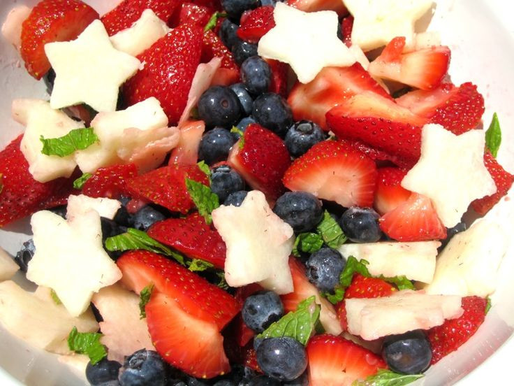 4Th Of July Salads  My chic life 4th of July fruit salad 4th of July