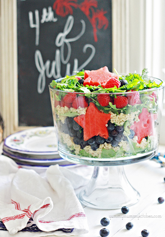 4Th Of July Salads  Patriotic Salad and More Red White and Blue Recipes for