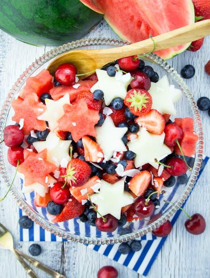 4Th Of July Salads  4th of July Fruit Salad Vegan Heaven