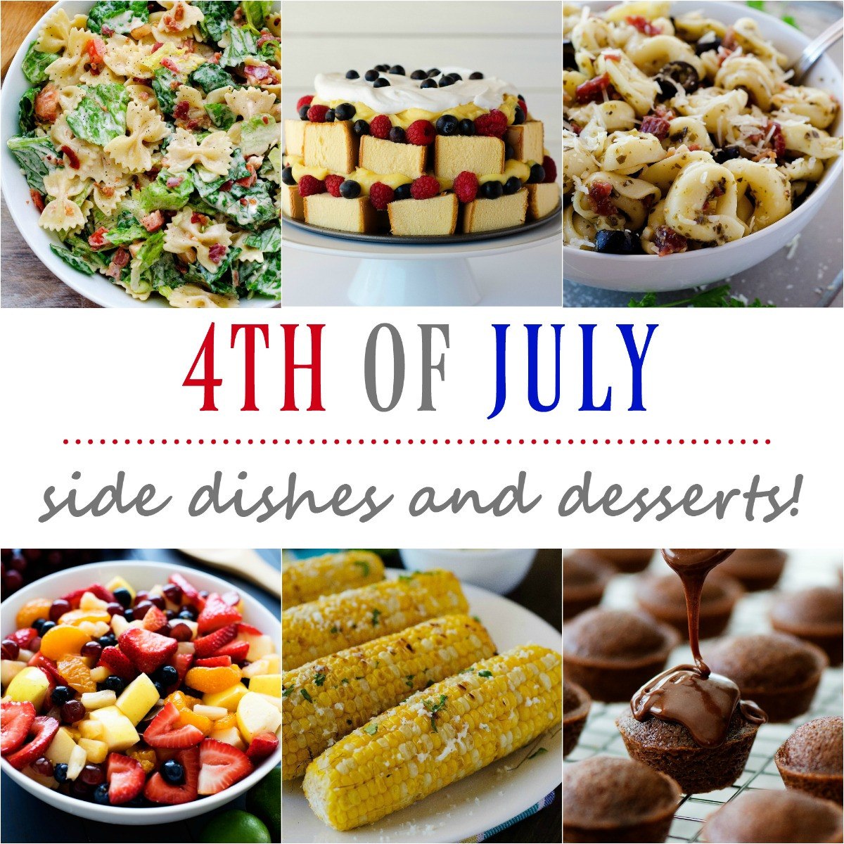 4Th Of July Side Dishes  4th of July side dishes and desserts Life In The Lofthouse