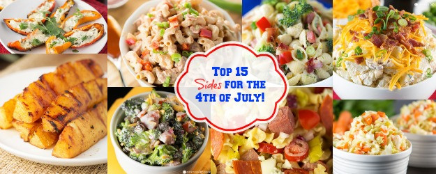 4Th Of July Side Dishes Easy  Top 15 Sides for the 4th of July