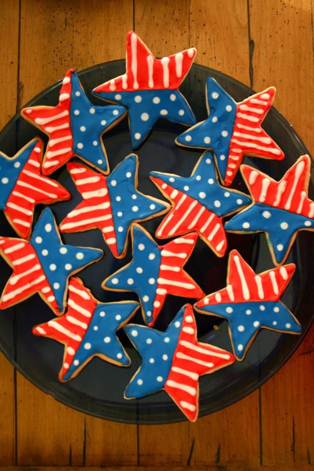 4Th Of July Sugar Cookies  4th of July Sugar Cookies A Dash of Megnut