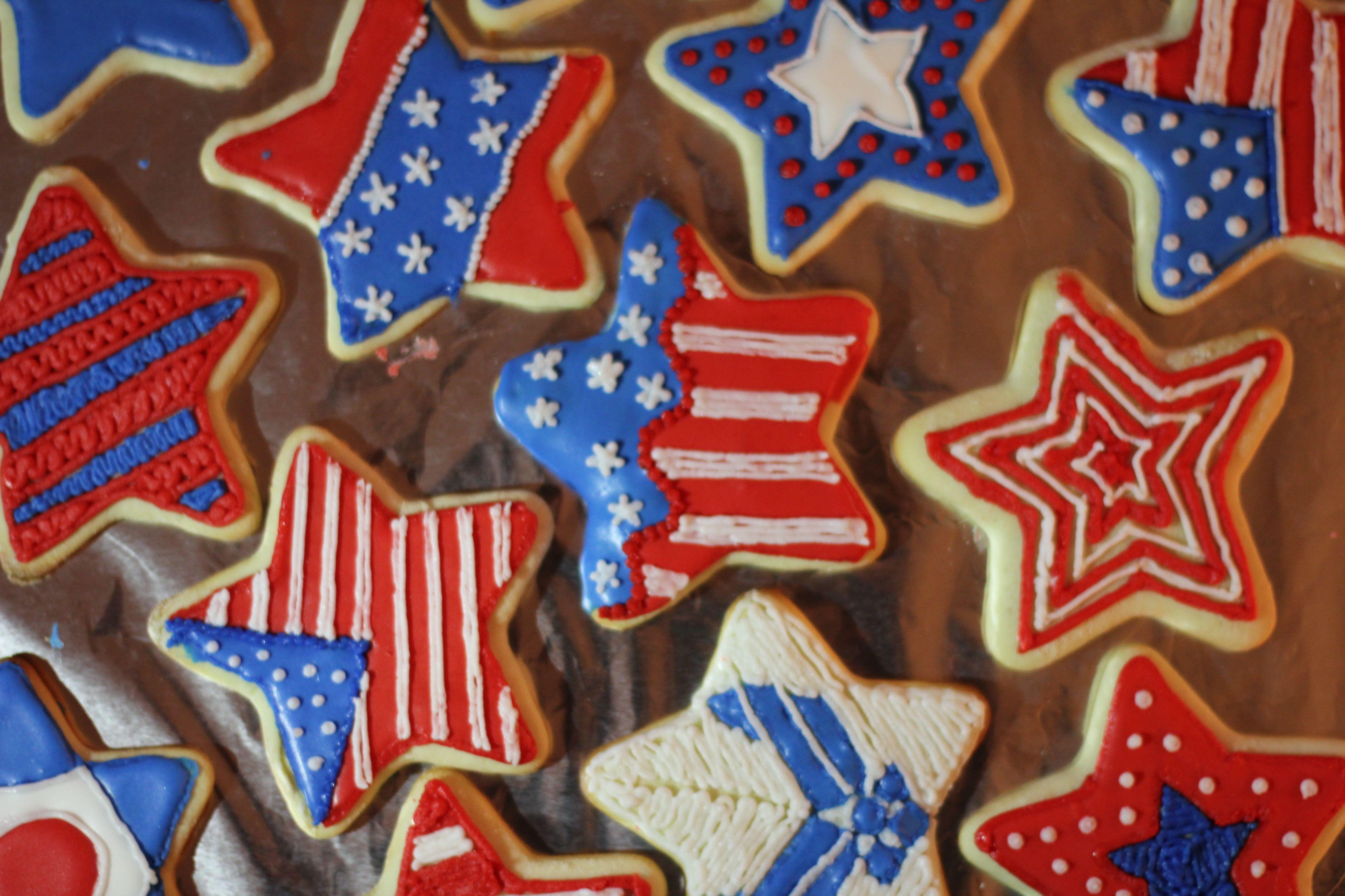 4Th Of July Sugar Cookies  4th of July Sugar Cookies