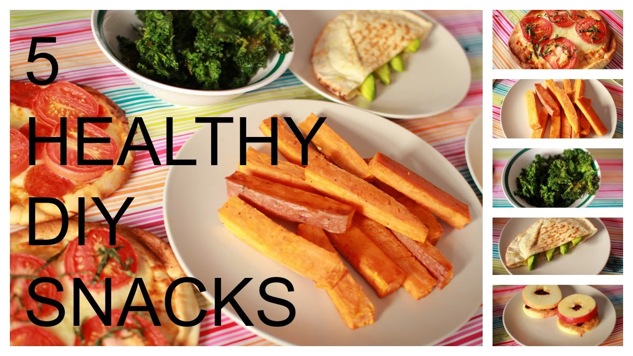 5 Healthy Snacks  5 MIN HEALTHY SNACKS TO HELP YOU LOSE WEIGHT