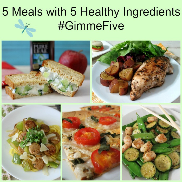 5 Ingredient Healthy Dinners  5 Healthy Meals with 5 Ingre nts GimmeFive