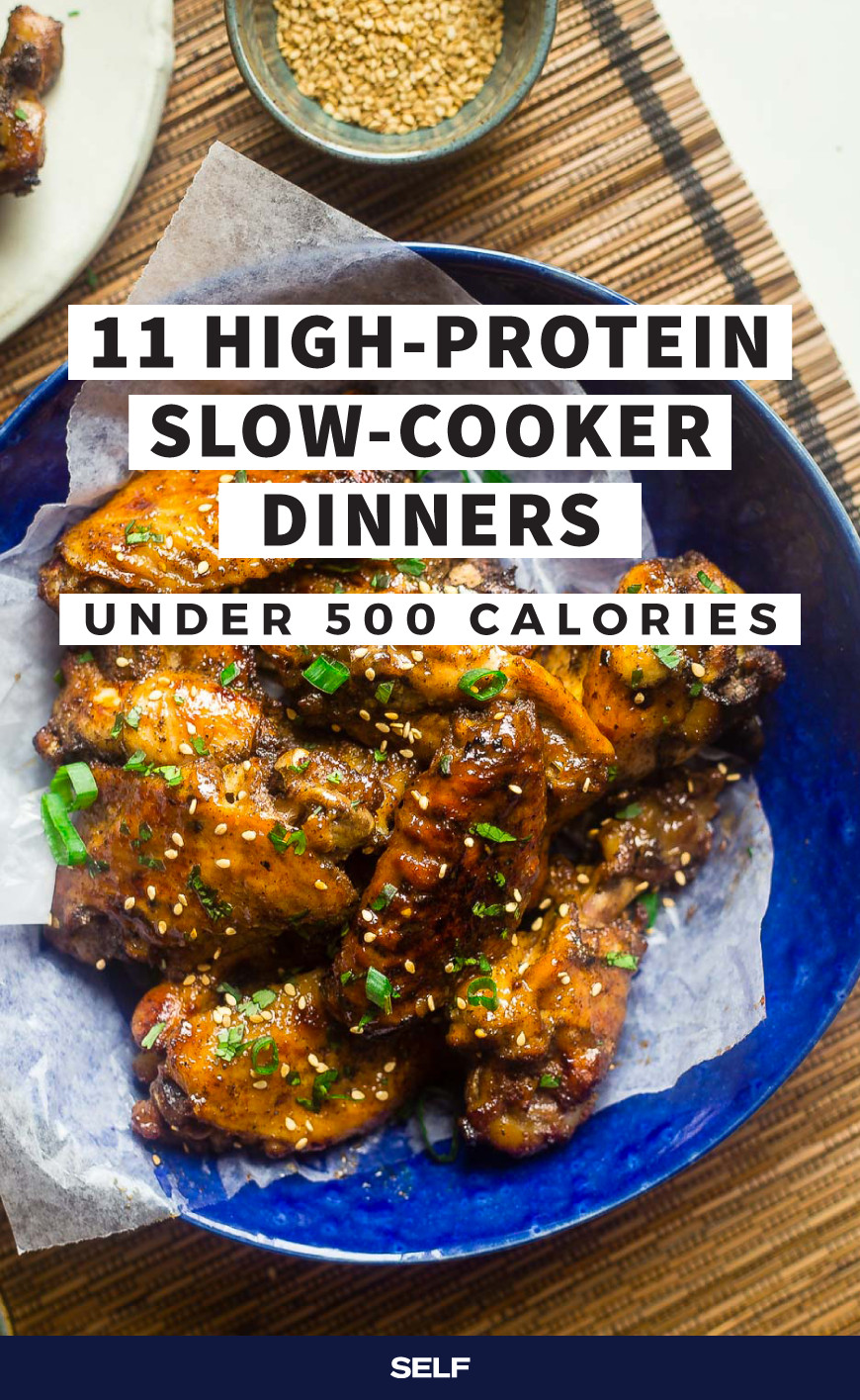 500 Heart Healthy Slow Cooker Recipes  11 High Protein Slow Cooker Dinners Under 500 Calories in