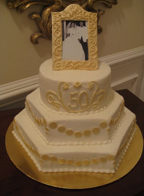 50Th Wedding Anniversary Cakes  50th Wedding Anniversary Cake Ideas s Wallpaper