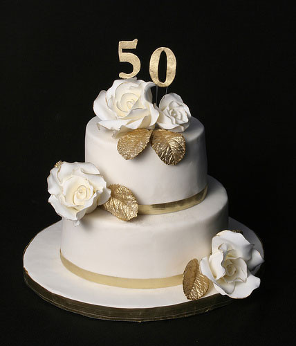 50Th Wedding Anniversary Cakes  50th Wedding Anniversary Cakes