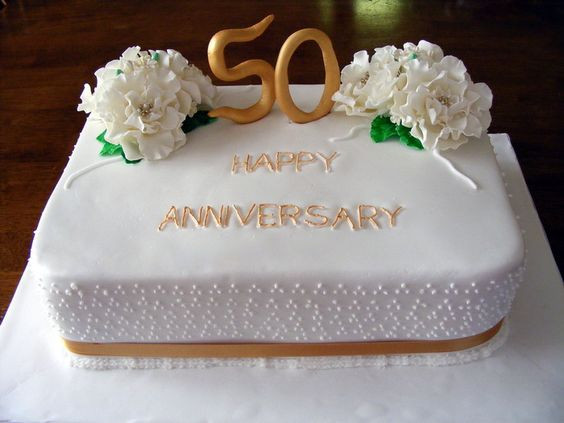 50Th Wedding Anniversary Sheet Cakes  50th Wedding Anniversary Sheet Cakes