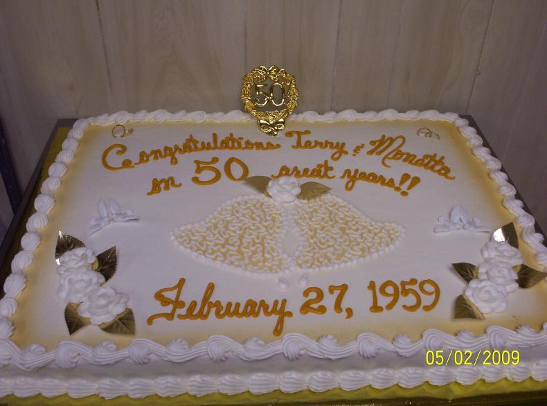 50Th Wedding Anniversary Sheet Cakes  50th wedding anniversary sheet cakes idea in 2017
