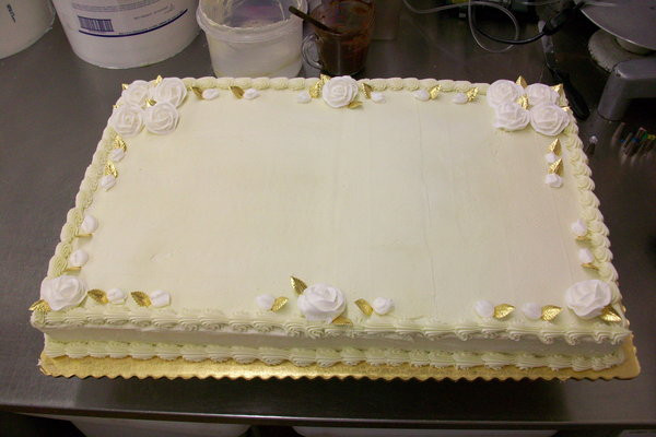 50Th Wedding Anniversary Sheet Cakes  600px