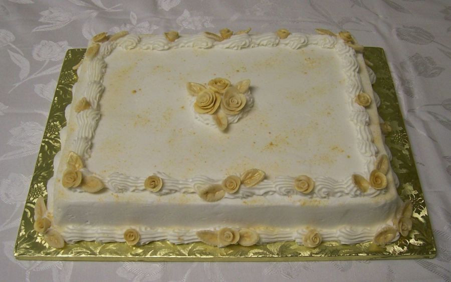 50th Wedding Anniversary Sheet Cakes the top 20 Ideas About 50th Anniversary Sheet Cake Cakecentral