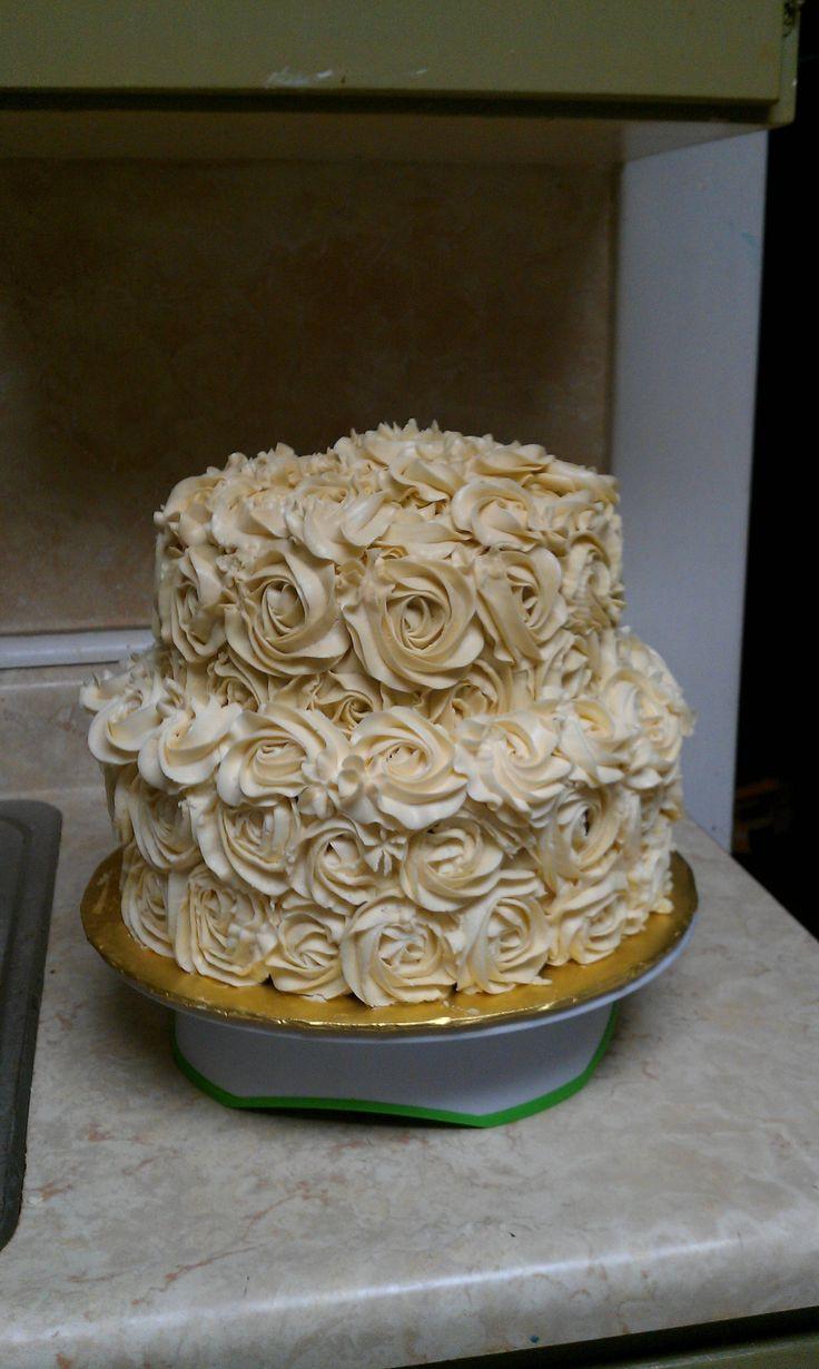 50Th Wedding Cakes  50th wedding anniversary cake Chocolate bottom tier