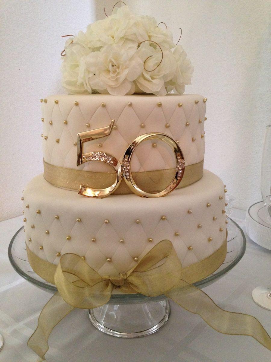 50Th Wedding Cakes  50th Anniversary Cake
