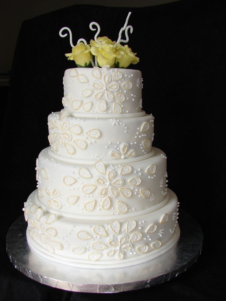 50Th Wedding Cakes  49 best images about 50th anniversary cakes on Pinterest