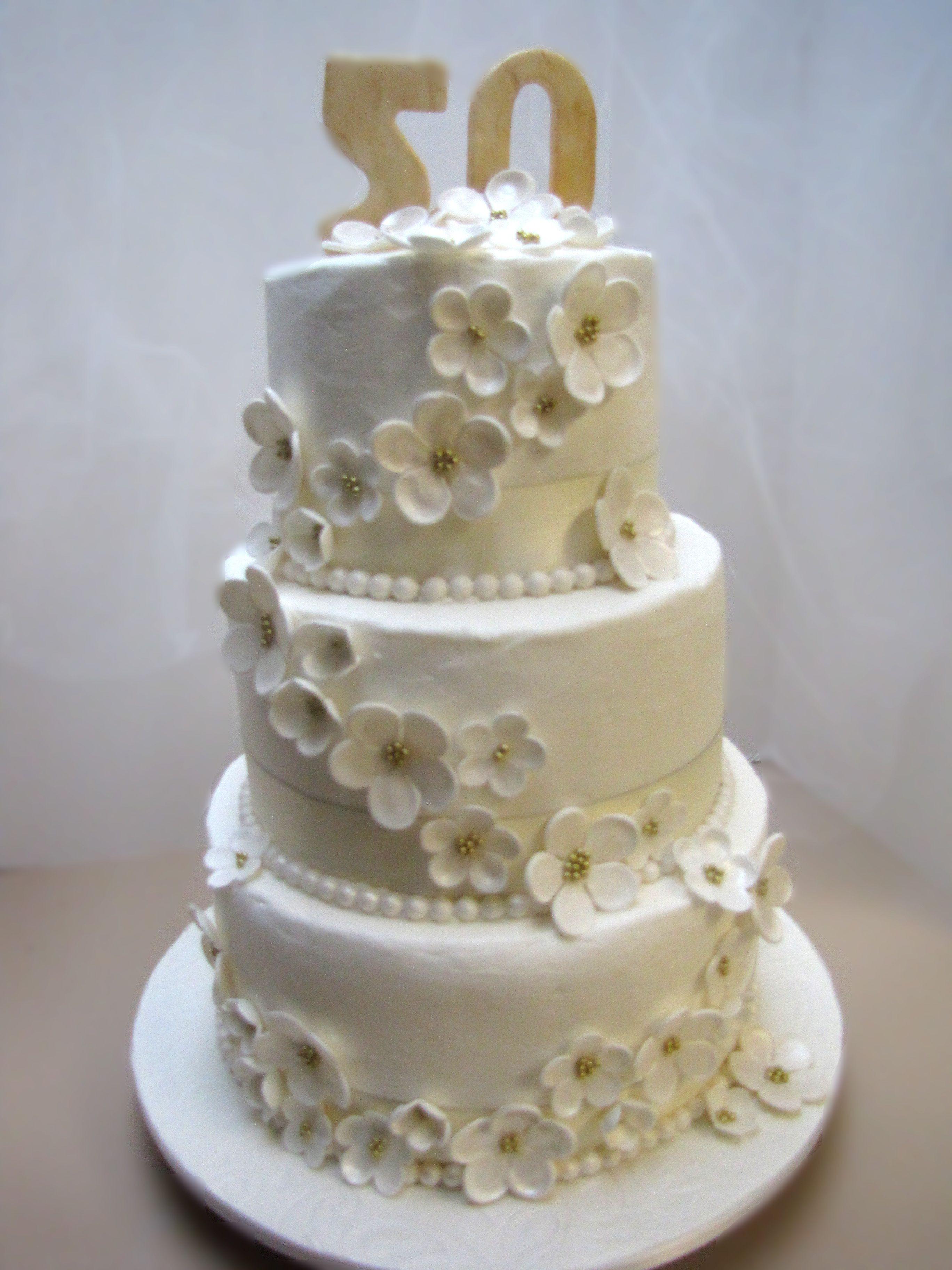 50Th Wedding Cakes  50th anniversary cakes