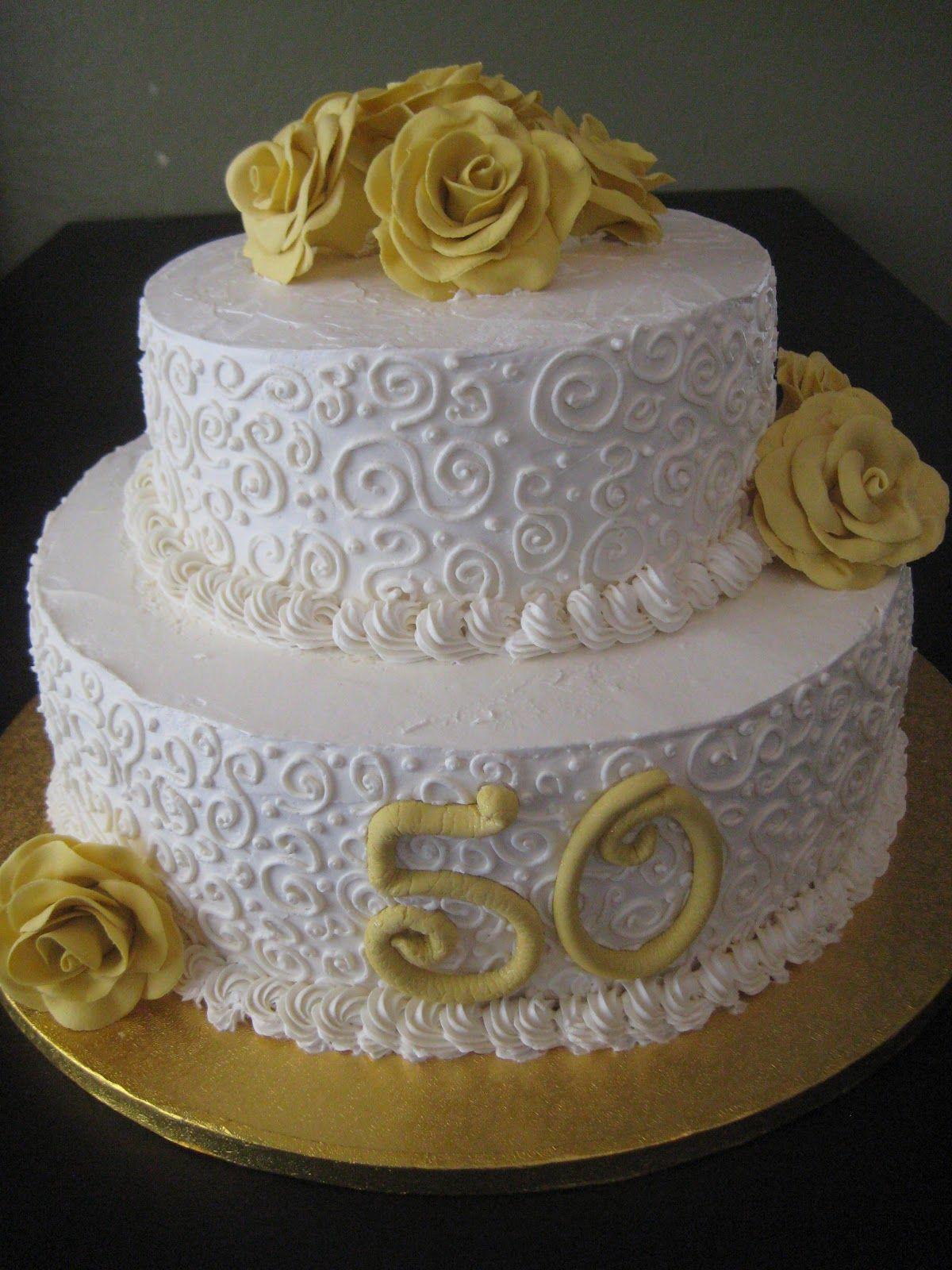50Th Wedding Cakes  50th wedding anniversary cakes