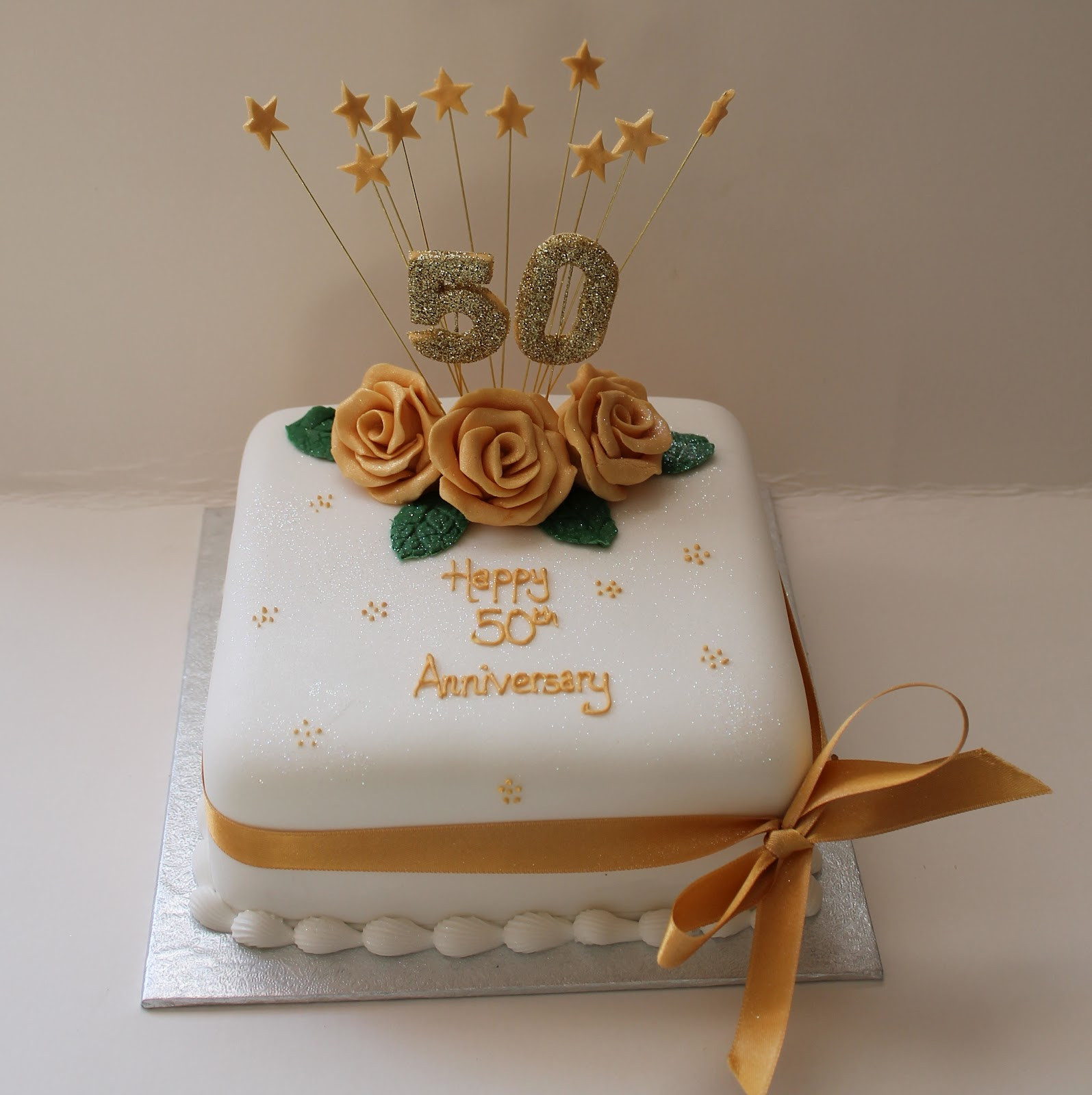 50Th Wedding Cakes  Best 50th Wedding Anniversary Cakes — CLASSIC Style