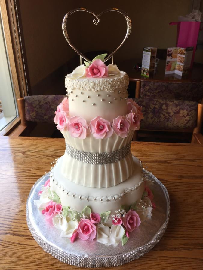 60Th Wedding Anniversary Cakes  60th Wedding Anniversary Cake by Laurie CakesDecor
