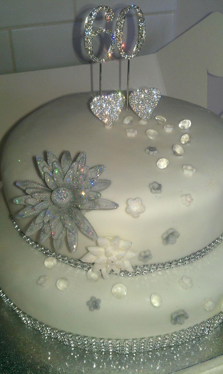60Th Wedding Anniversary Cakes  TOP 10 amazing 60th wedding anniversary cake designs