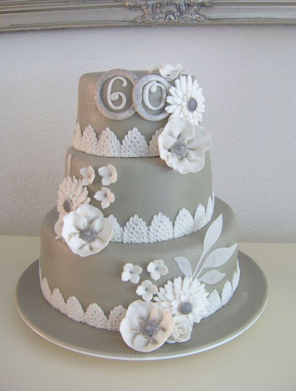 60Th Wedding Anniversary Cakes  60th Anniversary Cake