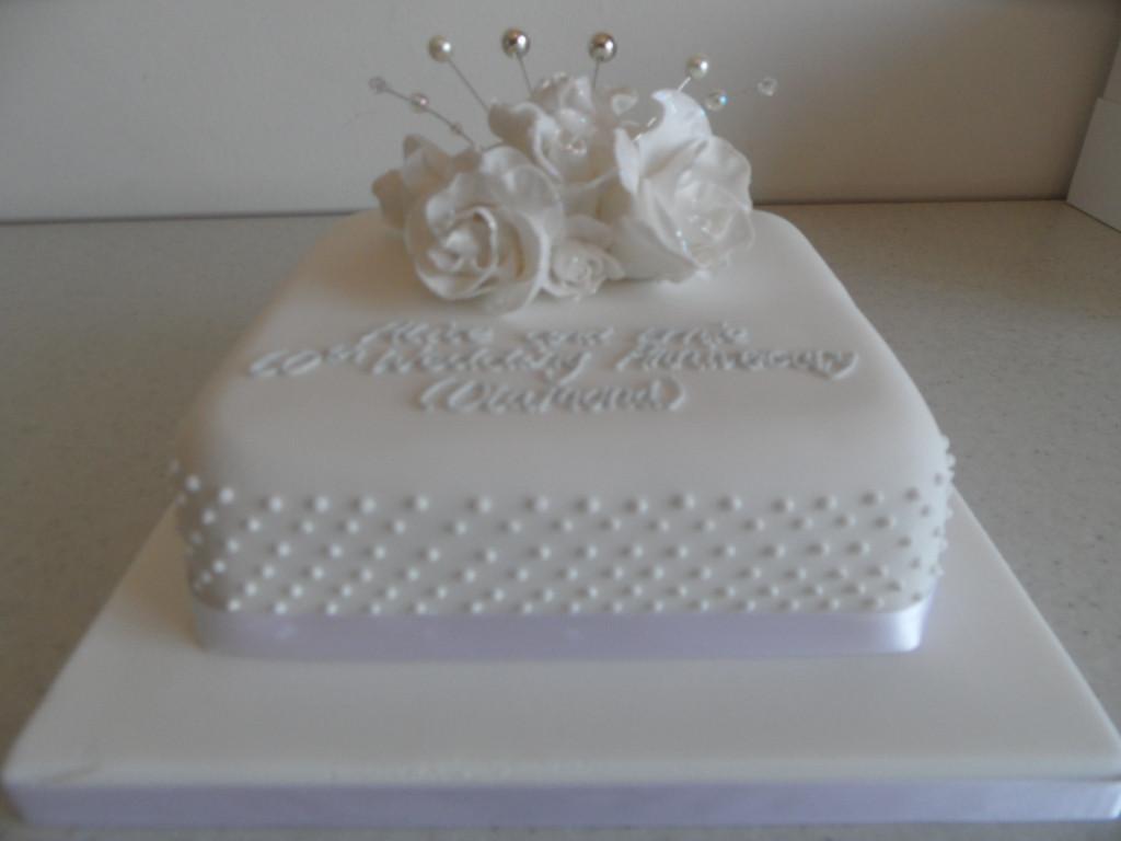 60Th Wedding Anniversary Cakes Ideas  11 Ideas For 60th Anniversary Cakes 60th Wedding
