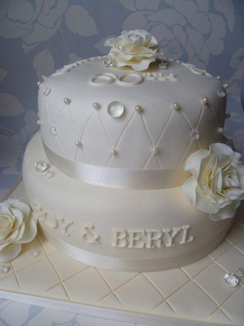 60Th Wedding Anniversary Cakes Ideas  60th wedding anniverary cake