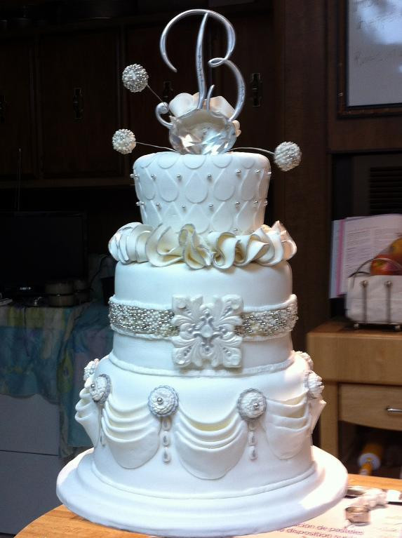 60Th Wedding Anniversary Cakes Ideas  60th wedding anniversary cake decorations idea in 2017