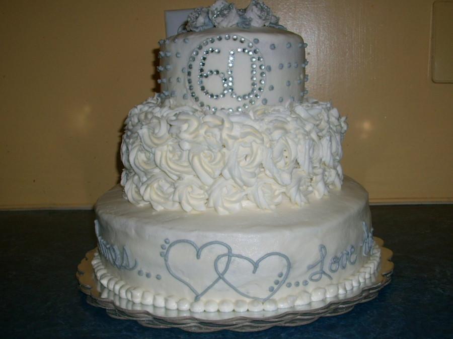 60Th Wedding Anniversary Cakes Ideas  60th Wedding Anniversary Cake