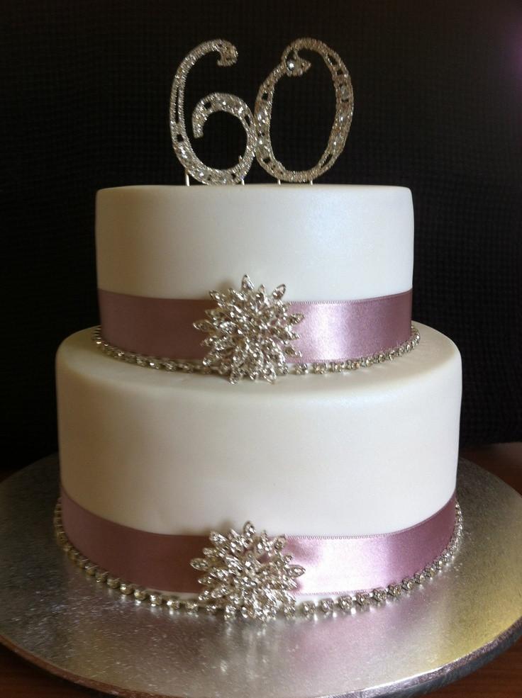 60Th Wedding Anniversary Cakes Ideas  25 best 60th anniversary cakes ideas on Pinterest