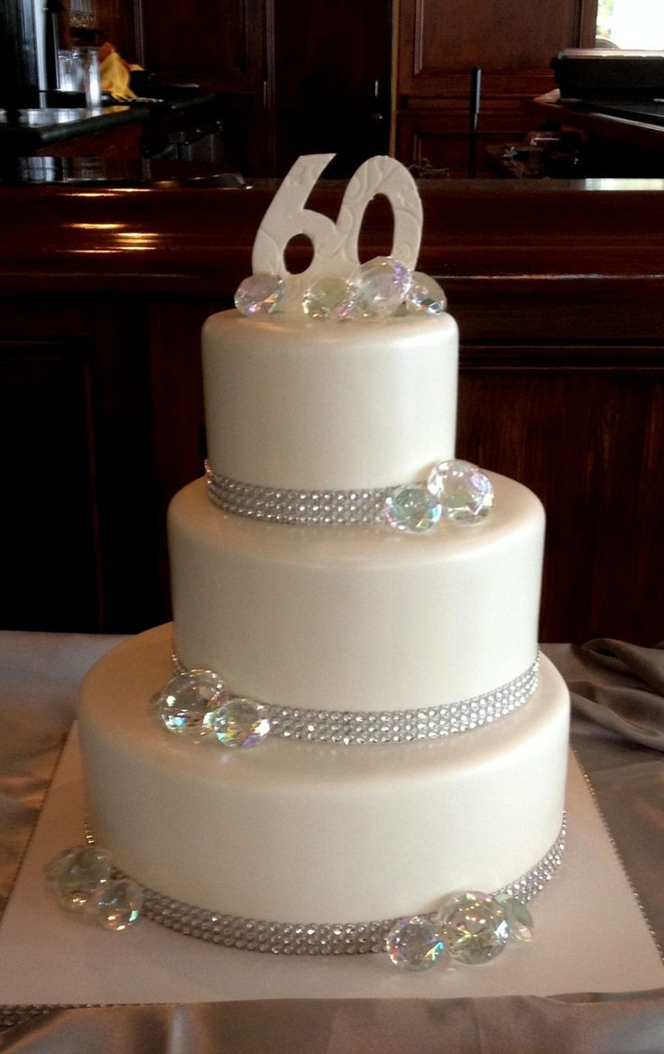 60Th Wedding Anniversary Cakes Ideas  12 best 60th wedding anniversary images on Pinterest