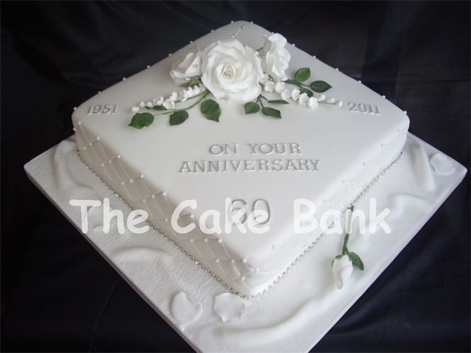 60Th Wedding Anniversary Cakes  60th wedding anniversary cake ideas Google Search