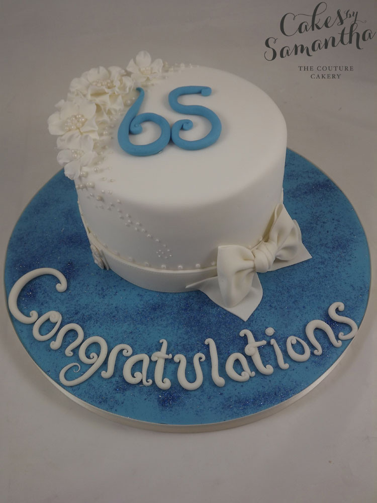 65Th Wedding Anniversary Cakes  Cakes by Samantha