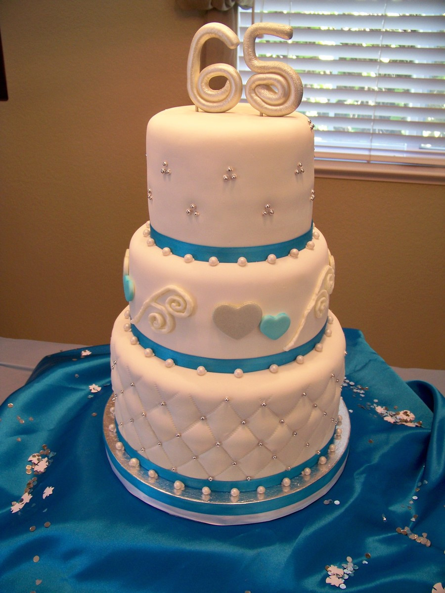 65Th Wedding Anniversary Cakes  65Th Anniversary Cake CakeCentral