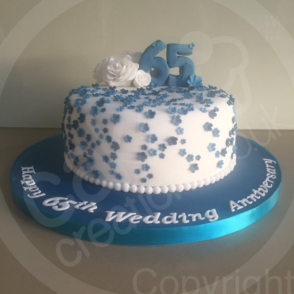 65Th Wedding Anniversary Cakes  Cake Creations CakeCreationsUK