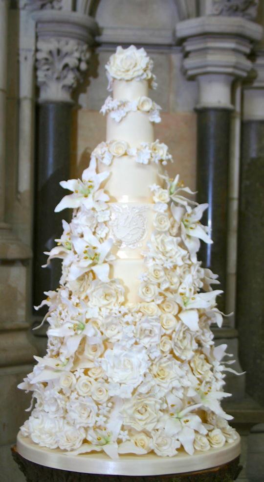 7 Tier Wedding Cakes  7 tier wedding cakes idea in 2017
