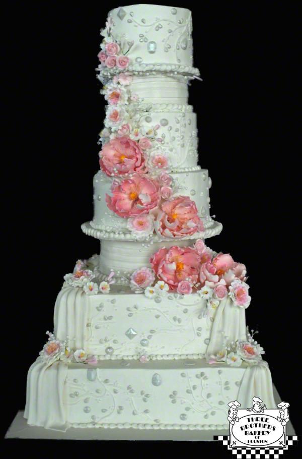 7 Tier Wedding Cakes  Wedding Cake Trends 2012 blog 3brothersbakery