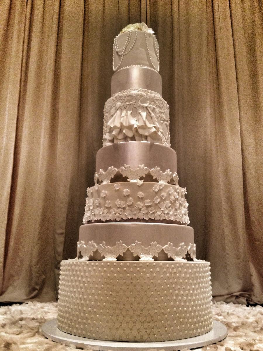 7 Tier Wedding Cakes  7 Tiers Wedding Cake CakeCentral