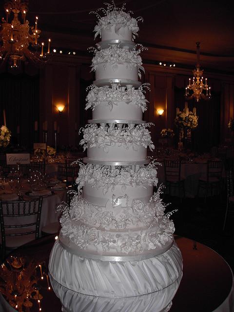 7 Tier Wedding Cakes  7 tier wedding cake