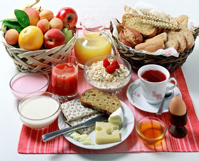 A Good Healthy Breakfast  Good Morning Breakfast