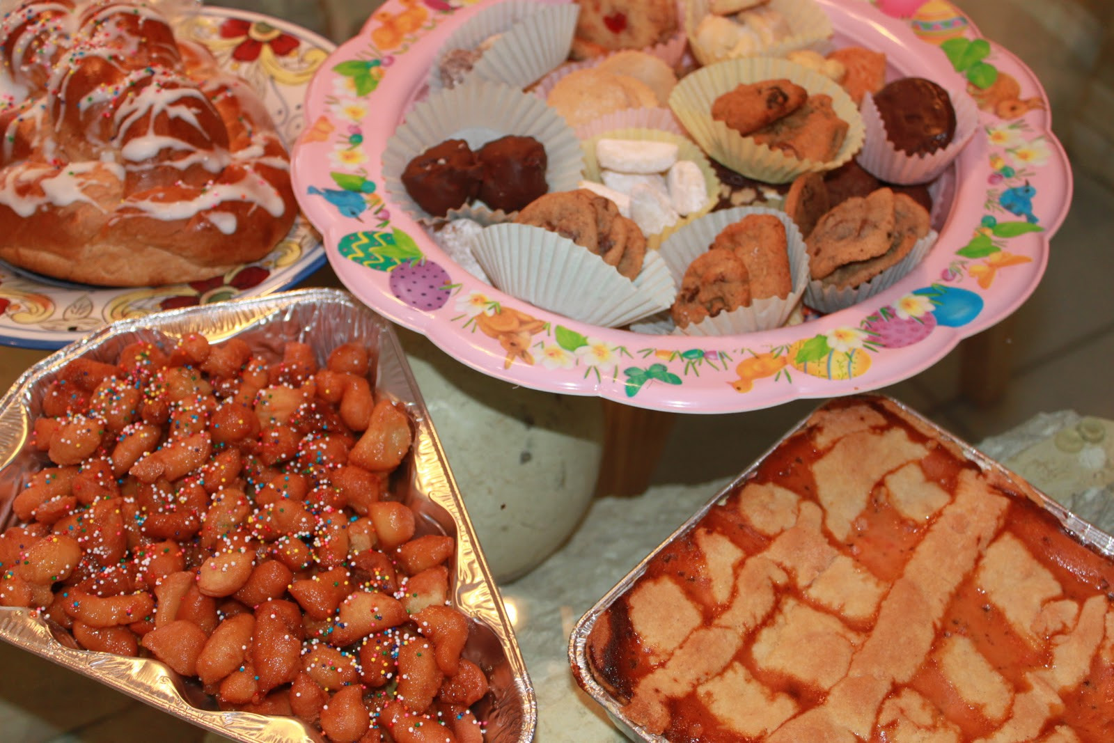 A Popular Easter Dinner  Our Italian Traditional Easter Dinner