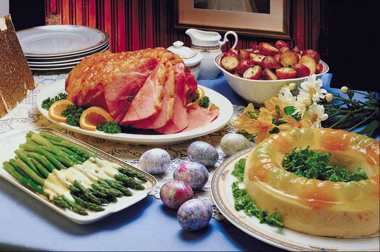 A Popular Easter Dinner  Traditional Easter Foods