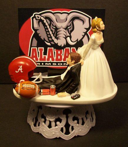 Alabama Wedding Cakes  Cake toppers Wedding cake toppers and Alabama on Pinterest