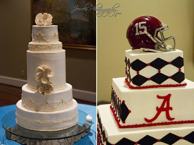 Alabama Wedding Cakes  Wedding cake Alabama Crimson Tide grooms cake